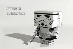 papertoy stormtrooper