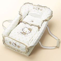 Hello Kitty baby nursery portable foldable bag bed Sanrio for gift - Modern Hello Kitty Nursery, Hello Kitty House, Hello Kitty Items, Hello Kitty Baby Stuff, Diaper Bag, Hello Kitty Collection, Best Baby Shower Gifts, Baby Bassinet, Baby Alive