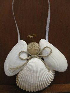 Shell Angel Ornament