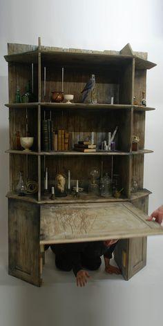 Réalisation d'un passage secret pour une escape room - Labsterium
