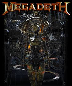 Merch piece for Megadeth. Metal Band Logos, Rock Band Logos, Rock Bands, Rock Band Posters, Rock Poster, Heavy Metal Art, Heavy Metal Bands, Power Metal, Thrash Metal