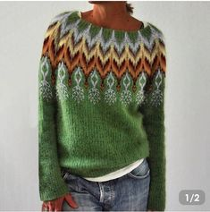 Baggy Sweaters, Icelandic Sweaters, Tribal Shirt, Plus Size Chic, One Clothing, Sweater Fashion, Vintage Shirts, Casual Tops, Designer