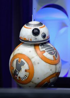 R2 - do you have a rival for cutest droid ever? Maybe, but R2 will always be my first love! ANAHEIM, CA - APRIL 16: BB-8 onstage during Star Wars Celebration 2015 on April 16, 2015 in Anaheim, California.  (Photo by Alberto E. Rodriguez/Getty Images for Disney) *** Local Caption *** BB-8