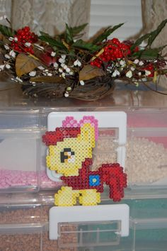 My Little Pony- Chibi Apple Bloom Perler