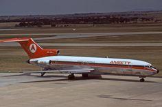 Ansett Australia Boeing 727-200 (registered VH-RMU)