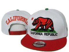 California Republic Snapback Hat 19