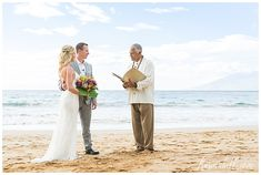 While destination weddings are not for every bride and groom, more and more adventurous bride and grooms are choosing to wed outside of their familiar, near-to Winter Wedding Destinations, Destination Wedding Locations, Hawaii Elopement, Hawaii Wedding, Stunning Summer, Space Wedding, Maui Weddings, Maui Hawaii, Elopements