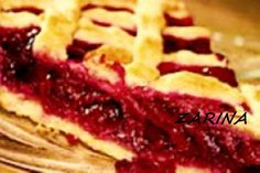 Вишнёвый пай (открытый пирог) из песочного теста, пропитанное ароматным соком вишни!!!(американская кухня)