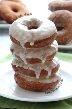Apple Cider Donuts: 3 Ways! from bakedbyrachel.com