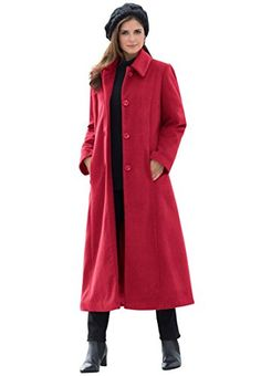 Jessica London Women's Plus Size Long Wool Blend Coat Classic Red,22 Jessica London http://www.amazon.com/gp/product/B010XSKJGS/ref=as_li_tl?ie=UTF8&camp=1789&creative=390957&creativeASIN=B010XSKJGS&linkCode=as2&tag=shawnee05-20&linkId=UTAZ2S2N7IOYYYON