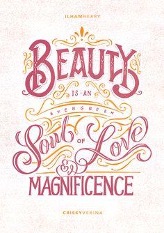 Typography Mania #273 | Abduzeedo Design Inspiration
