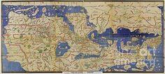 World map, 1120AD