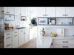 Interior Design – This Modern White Kitchen Has A Surprising Detail - YouTube