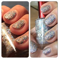 This is the nr.05 from #goldenrose Galaxy collection, a #matte base packed with tons of #holographic #glitters. It's matte and #holo at the same time, it glows from the inside  Peel off base coat by #misssporty is my friend  #mani #manicure @naillandhungary @goldenrosetr #notd #nails #nail #nailfie #nailporn #nailswag #nailsofig #naillacquer #naildesign #nailsaddict #nailvarnish #nailpolishes #nailsoftheday #manicureoftheday #instanails #nailpolishaddict #nailpolishmaniac #glitter #nailsdid