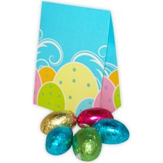 Mini Egg Box Foiled mini eggs in a full colour personalised box.