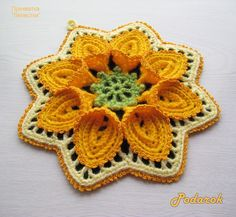 Crochet Beautiful Flower Tutorial