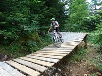 Parc enduro mythique de Métabief Garden Bridge, Outdoor Structures, Nordic Skiing, Atv, Biathlon