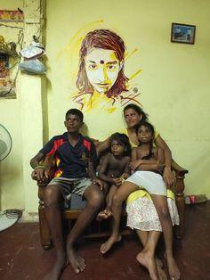 by C215 - Colombo, Sri Lanka - Sept 2014 Life Photography, Sri Lanka, Street Art, Art