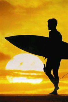 Suns up Surfs up