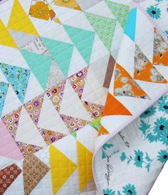A Flock of Flying Geese Quilt II