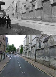 Place de la Laiterie, Angers, Francia  #NORMANDIA1944