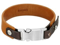 Fossil Snip Cuff Bracelet Brown - Zappos.com Free Shipping BOTH Ways