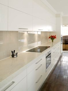 glass splashback colours - Google Search