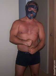 macho man masked wrestler bad hairycubs pics