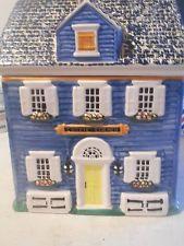 cookie corner House  Ceramic Cookie Jar
