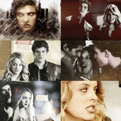 Teen Wolf Isaac Lahey and Erica Reyes