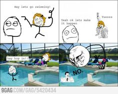 Everytime. Can't get that hair wet!