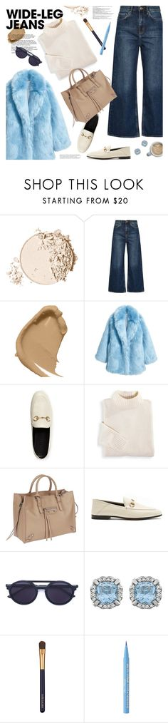 """join our new contest (view description)"" by jesuisunlapin ❤ liked on Polyvore featuring Too Faced Cosmetics, M.i.h Jeans, Guerlain, Jakke, Balmain, Gucci, Blair, Balenciaga, Thierry Lasry and Estée Lauder"