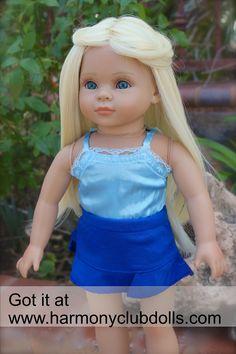 """HARMONY CLUB DOLLS 18"""" Dolls the size of American Girl www.harmonyclubdolls.com"""
