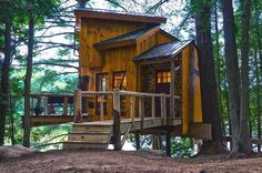 """1,737 Likes, 14 Comments - 🌲Treehouse Club🌲 (@treehouseclub_) on Instagram: """"Have you met my my friend @wildtreewoodworks? He makes awesome treehouses like this one. One of the…"""""""