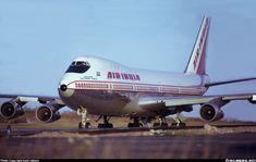"Air India Boeing 747-237B VT-EBN ""Emperor Rajendra Chola"" at Stockholm-Arlanda, October 1972. Arlanda was a stopover on the New Delhi-Stockholm-London-New York route, AI115. (Photo: Kjell Nilsson)"