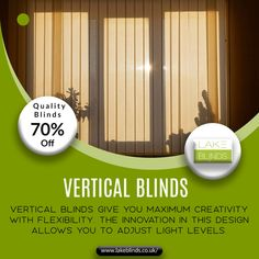 Do you want to style your wide windows and patio doors in a modern and innovative way? Then, vertical blinds Birmingham are the best option for you. Pvc Blinds, Fitted Blinds, Fabric Blinds, Wood Blinds, Types Of Blinds, Best Blinds, Patio Doors, Premium Wordpress Themes, Peace Of Mind