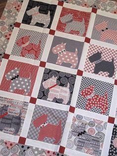 Bitsy Buttons featuring Mama Said Sew fabric   Hollyhill Quilt Shoppe