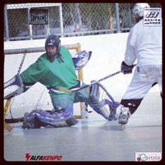 Hockey en patines en #Aguascalientes mas en www.agssports.com