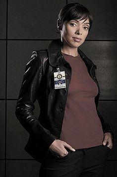 """Bones Tamara Taylor as """"Camille Saroyan"""" Bones Tv Series, Bones Tv Show, Emily Deschanel, Bones Season 2, Fox Bones, Tamara Taylor, Michaela Conlin, Seeley Booth, American Crime"""