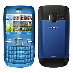 Nokia C3-00 Unlocked Cell Phone with QWERTY, Dedicated E-mail Key, 2 MP Camera, Media Player, WLAN, and MicroSD Slot http://ecommerce.tcs.com/mos/control/product?product_id=20049