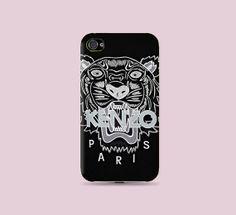 eaf4b0401 Black kenzo tiger fashion printed Plastic Hard by CatCheeseCase, $16.99