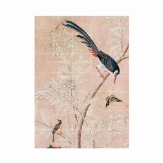 IXXI Panel of Chinese Wallpaper Wandsysteem Chinese Wallpaper, Inspiration Wall, Paint Colors, Artwork, Painting, Interior Ideas, Kitchen, Garage, Decor Ideas