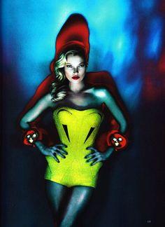 Kate Moss For British Vogue -via Quintessence