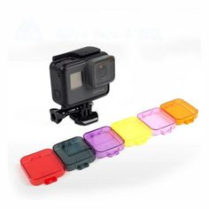 Diving Underwater Lens Filter Cover for Gopro Hero 5 Sport Action Camera Accessories