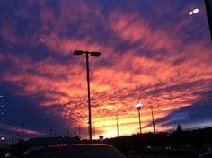 Sunset, Vaughan, Ontario.