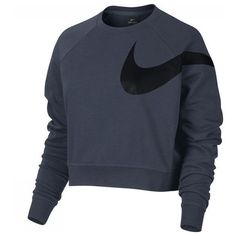 Nike Pullover W Nk Dry Top Ls Lg Gpx Versa (200 PEN) ❤ liked on Polyvore featuring nike