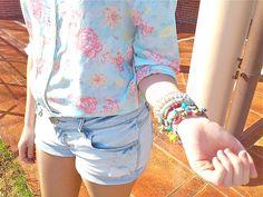 Flowers & Bracelets  http://ohmystilo.blogspot.com
