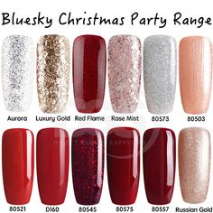 Bluesky Christmas Range Gel Polish †How to apply Bluesky Gel Polish. Face Cleanser Cleanser Wrap the nail with foil and allow the nail to soak for 10 ñ 15 minutes. Soak a cotton pad/cotton ball with acetone and place directly onto the nail. Red Gel Nails, Soak Off Gel Nails, Shellac Nails, Cute Acrylic Nails, Gel Nail Polish, Brown Nails, Manicures, Bluesky Gel Polish Swatches, Bluesky Nails