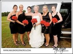 Real Weddings: Ashley   Chadwick | Black bridesmaids, Black ...