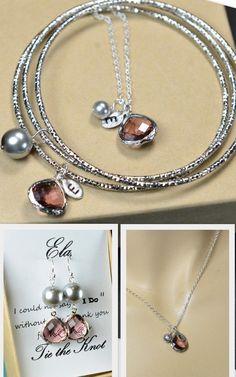 Bridesmaid earringsBridesmaid Jewelry Wedding by thefabwedding2, $29.99